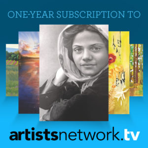 One year subscription to the artist network tv