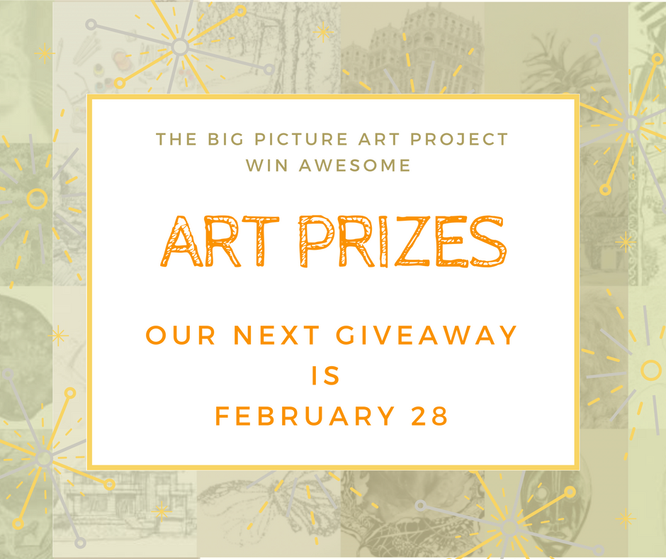 win awesome art prizes